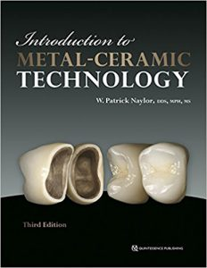 Introduction to Metal-Ceramic Technology, 3rd edition PDF
