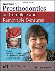 Journal of Prosthodontics on Complete and Removable Dentures PDF