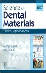 Science of Dental Materials Clinical Applications 2nd Edition PDF