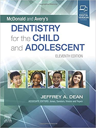 McDonald and Avery's Dentistry for the Child and Adolescent 11th Edition PDF